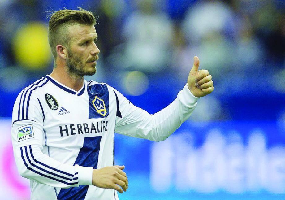 David Beckham a encore un dernier match à disputer avec le Los Angeles Galaxy, avant de filer sur le Rocher ?