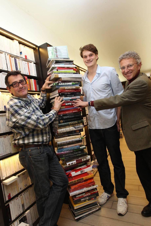 Yannick Agnel reçoit sa hauteur en livres à l - 19324479.jpg