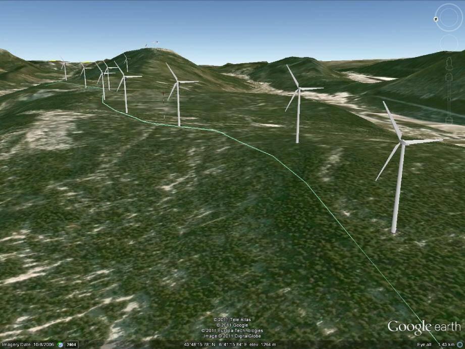 Après étude à Valderoure, des vents soufflant sur le plateau de Chandy, EDF renonce à la mise en place de dix éoliennes.