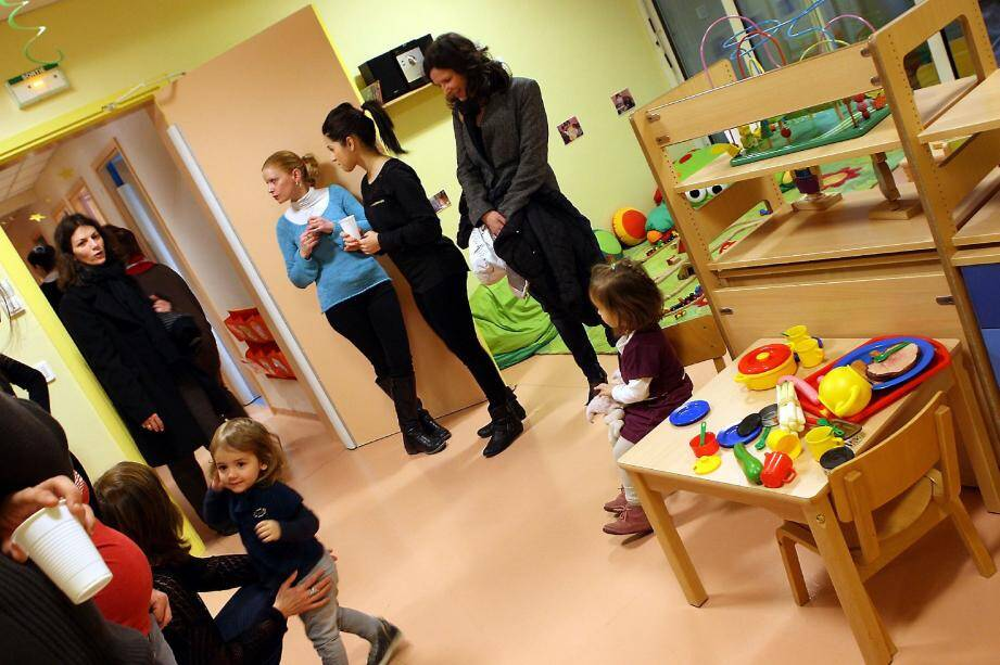Les parents ont pu découvrir les locaux vendredi après-midi avec leurs enfants, histoire de se familiariser avec les lieux avant la rentrée de ce matin. Ici la grande salle de jeux.