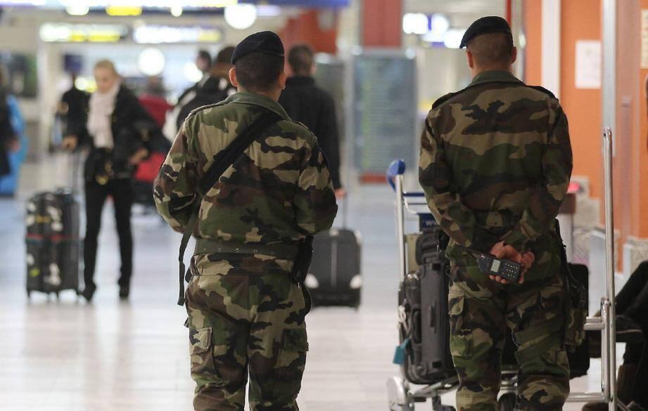Le dispositif de sécurité a été surtout renforcé à l'aéroport Nice Côte d'Azur.
