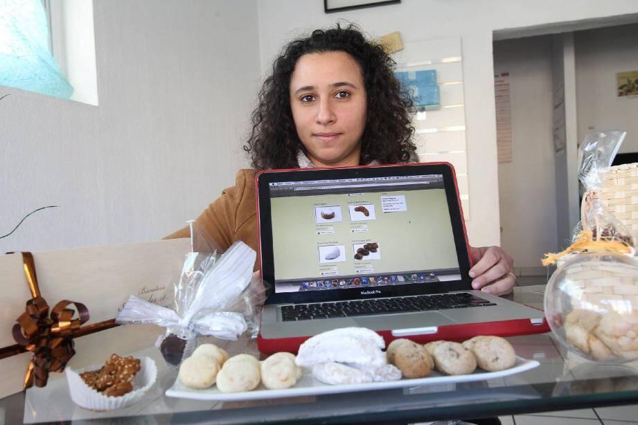 Les délicieux biscuits de Malak Fennane-Ferrari sont disponibles en un clic.