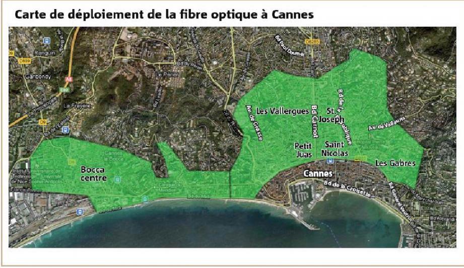 fibre optique cannes