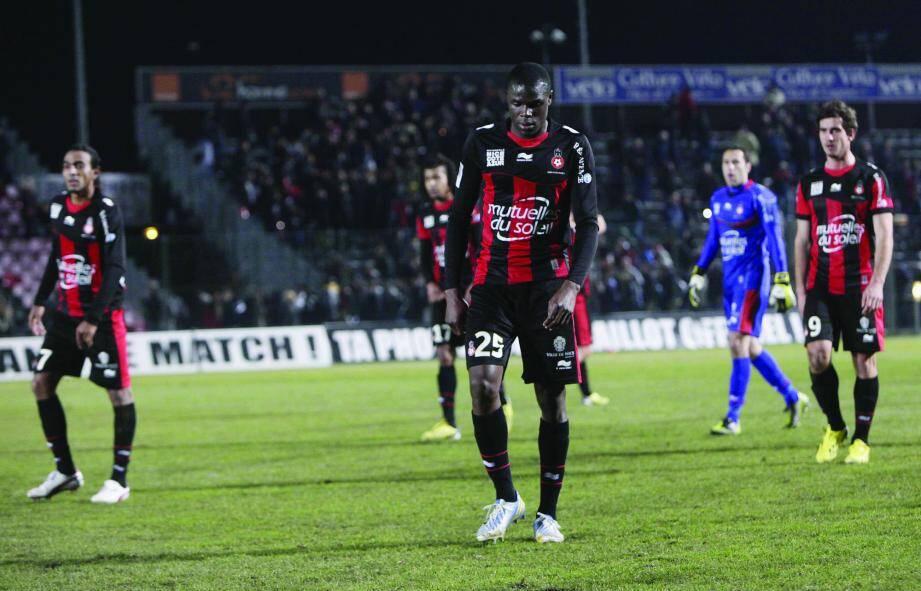 Semaine tristounette pour le Gym, éliminé mercredi de la Coupe de France par Nancy, et battu, hier, par Bordeaux en championnat (0-1).