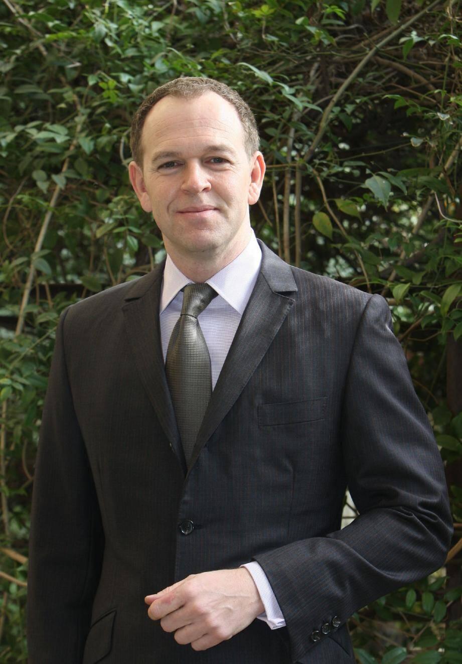 Laurent Nouvion, serein dans la dernière ligne droite de la campagne électorale.