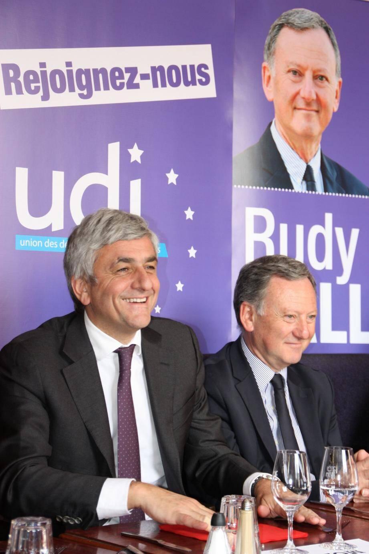 Hervé Morin et Rudy Salles comptent bien faire de l'UDI une force politique qui compte dès les prochaines élections municipales.