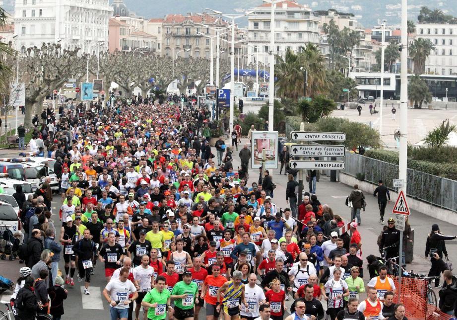 L'an passé, le semi-marathon de Cannes avait battu des records de participation.