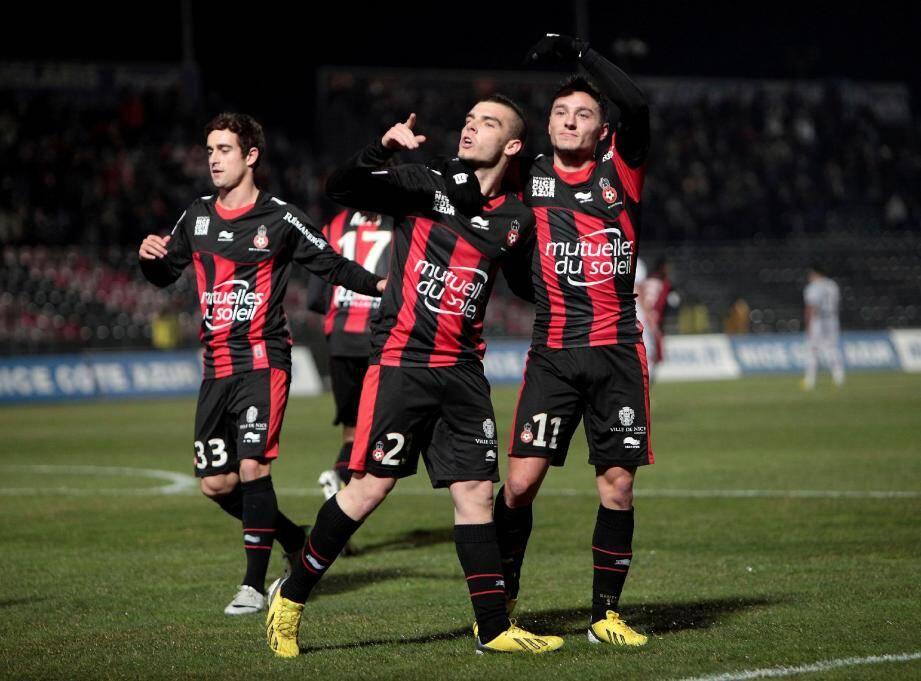 Grégoire Puel, Alexy Bosetti et Eric Bauthéac symbolisent parfaitement la réussite actuelle de l'OGC Nice de Claude Puel.