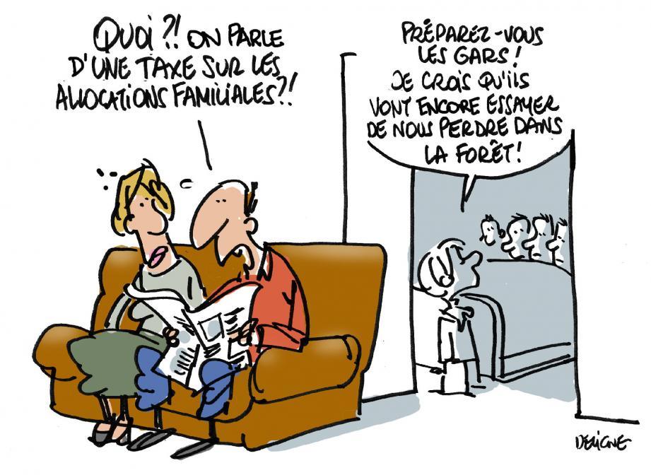 Pour Marie-Pierre Gariel, présidente de l'Udaf 83, « l'argent de la branche famille doit rester aux familles » .