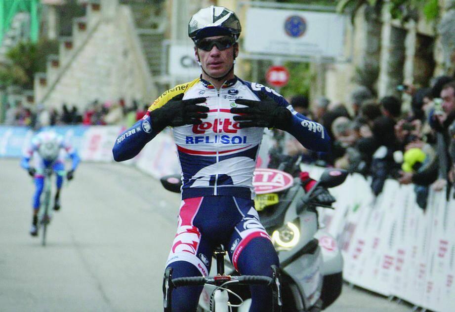 Le Belge Jürgen Roelandts a remporté l'ultime étape, à Grasse.
