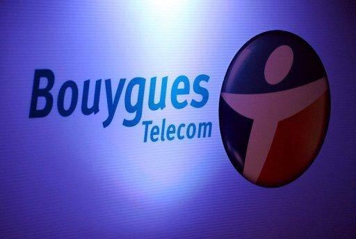 Logo de Bouygues Telecom, le 18 mai 2010 à Paris