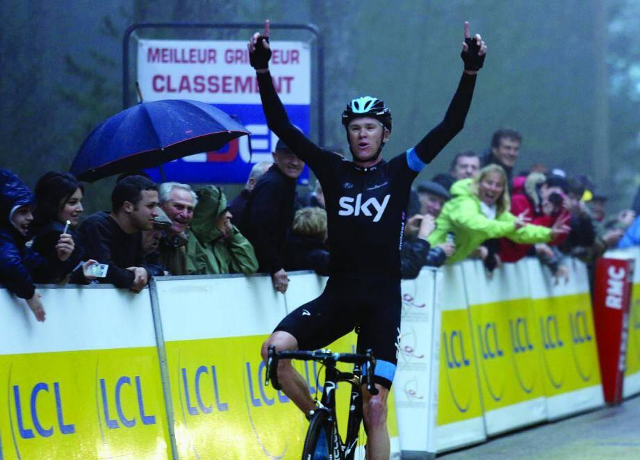 Chris Froome remporte le Critérium en Corse