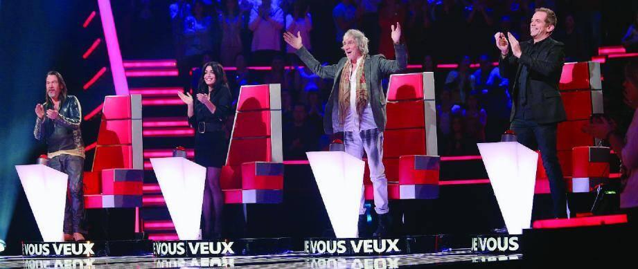 Avec ses quatre jurés stars et ses nombreux talents vocaux, The Voice écrase la concurrence des autres chaînes chaque samedi soir.