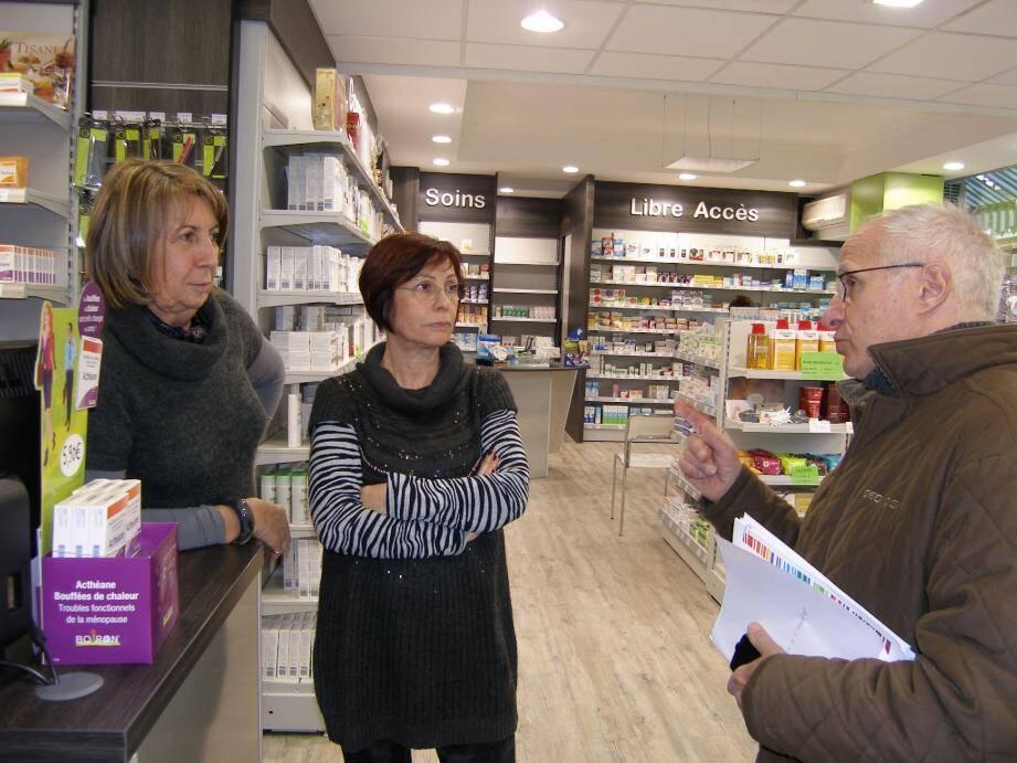 Les pharmaciennes ne sont pas enchantées par la perspectives de ces nouveaux frais.