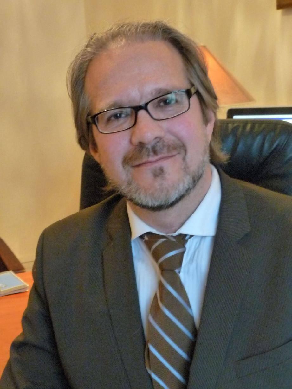 Mâitre David Antoine, avocat et enseignant en droit du sport.