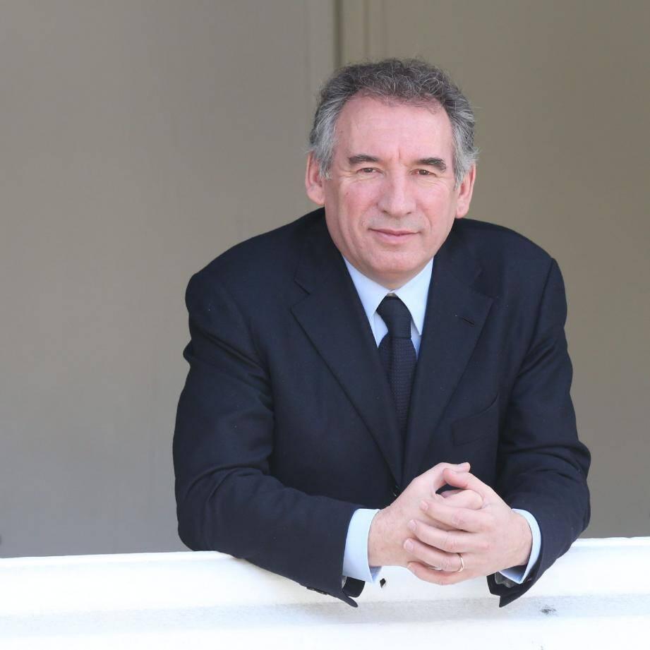 François Bayrou, interview Nice-Matin