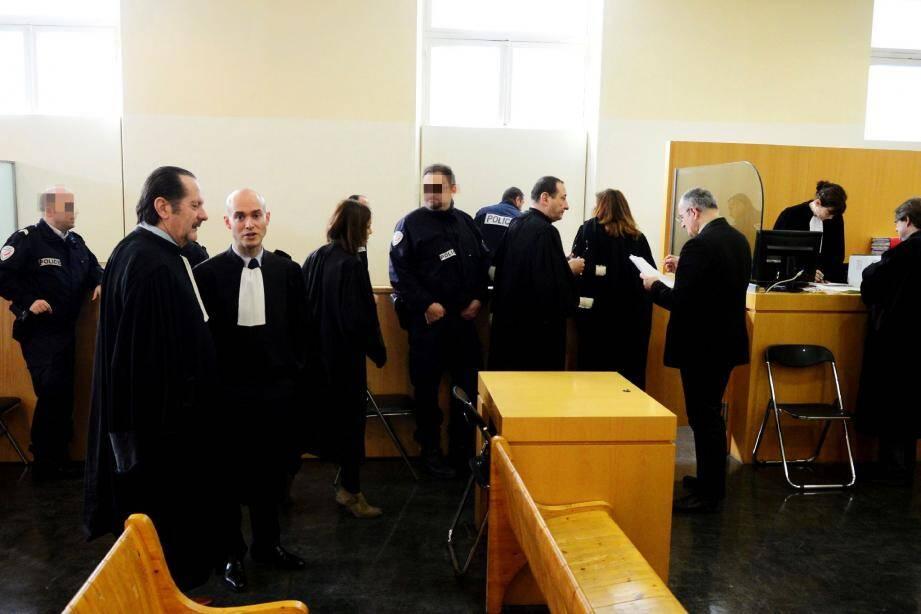 La VIIe chambre du tribunal correctionnel de Marseille interrogera demain le Toulonnais Ludovic Ortuani.