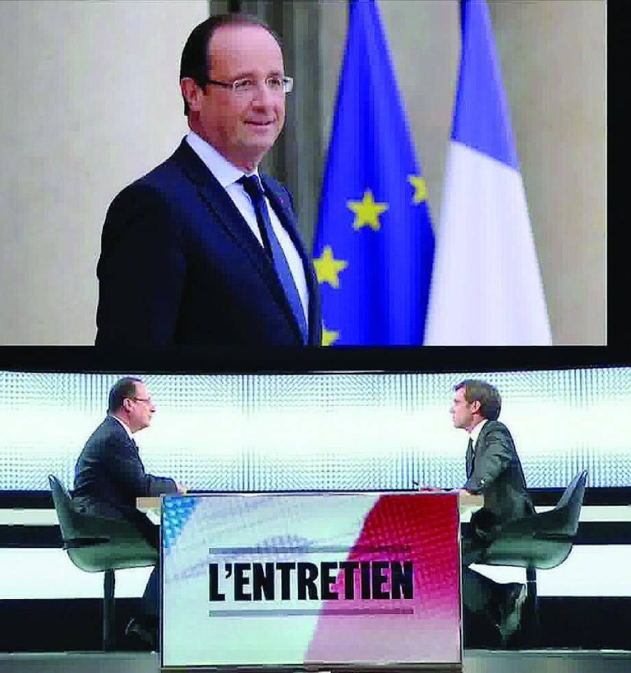 Face aux mauvais sondages, François Hollande a assuré, hier soir sur le plateau de France 2 qu'il « aime tous les Français » et qu'il faut « fédérer ».