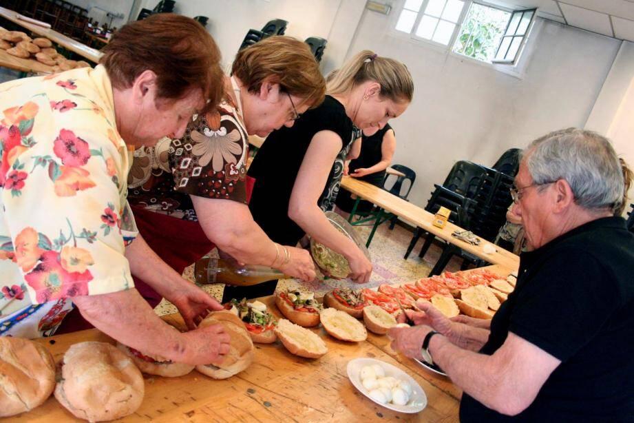 Concours de pans-bagnats Nice-Matin