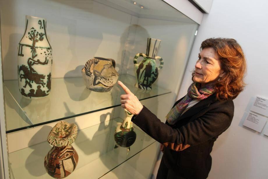 Cinq céramiques inédites de Picasso exposées au musée à Antibes