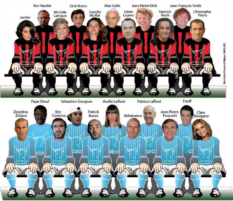 Nice-Marseille Dream Team
