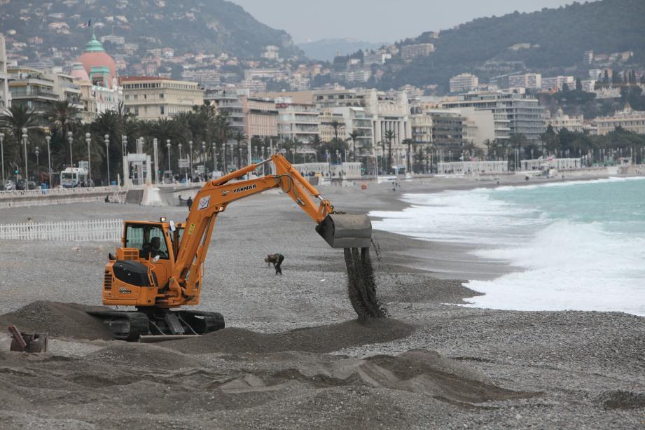 Préparation plage Nice