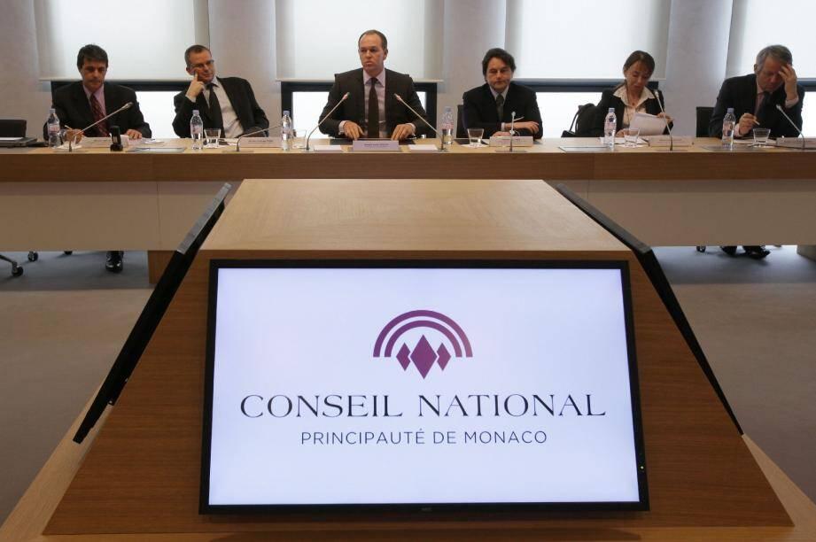 Laurent Nouvion, incisif, aux côtés de son vice-président et des principaux présidents de commission, a évoqué une feuille de route bien remplie.