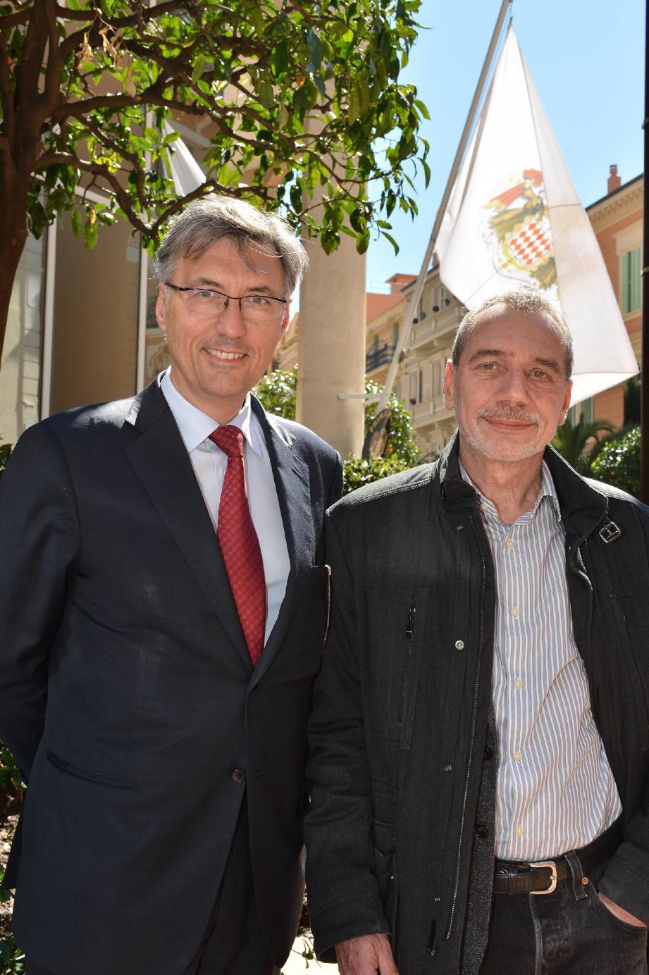 Jean-Louis Grinda et Bernard Pasquier, deux indépendants dans la majorité.
