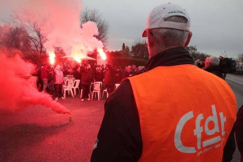 Les salariés de l'usine Kerry implantée à Grasse se sont fortement mobilisés contre le PSE.