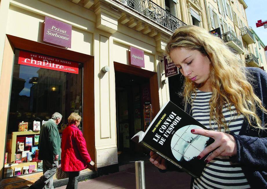 Avec la fermeture pressentie de la librairie de la Sorbonne, rue des Belges, c'est une page qui se tourne dans le centre-ville de Cannes.