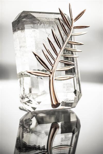 La palme d'or 2013 a été comme chaque année conçue et réalisée par la joalliers de Chopard en Suisse