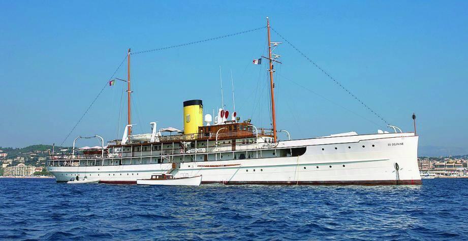Le SS Delphine restera sur son port d'attache en Tunisie, mais sera présenté en vidéo.