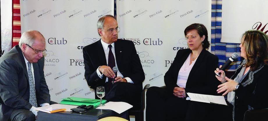 Hier matin au Yacht-Club, invité du Monaco Press Club, Jean-Luc Biamonti a donné les grandes lignes des dossiers qui dessinent l'avenir de la société.