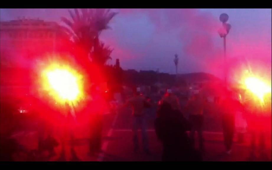Manifestation des anti-mariage pour tous à Nice