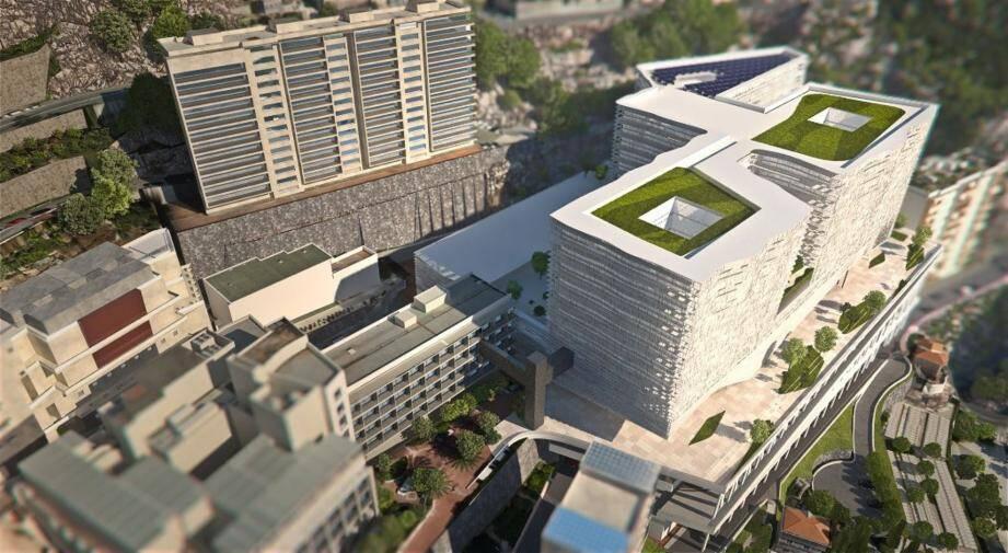 Le projet du futur Centre hospitalier princesse Grace