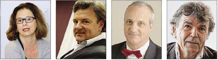 Ghislaine Ellena, Pascal Coste, Jean-Marc Vittori et Claude Escarguel seront ce soir à l'Ipag à Nice pour un débat sur l'emploi.