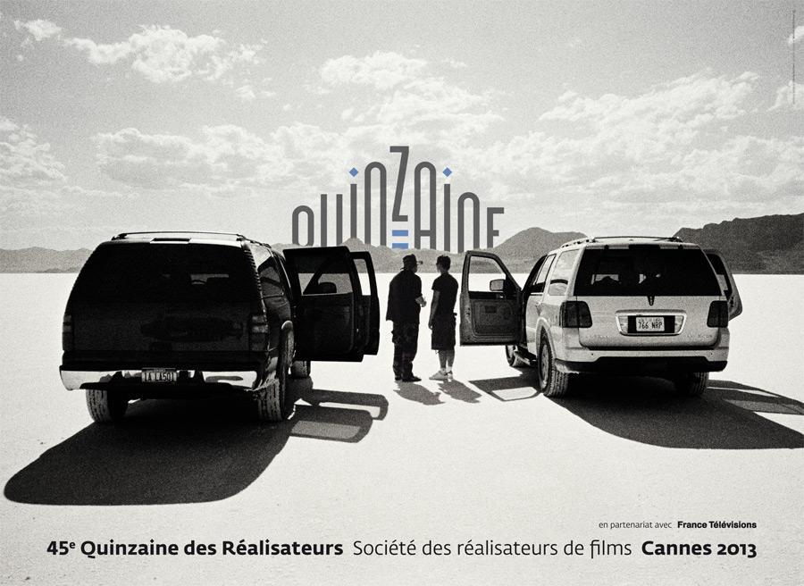 L'affiche de la Quinzaine des Réalisateurs 2013 a été réalisée d'après une photographie de Cécile Burban.