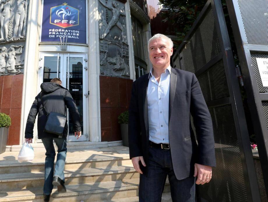Le sélectionneur de l'Equipe de France Didier Deschamps