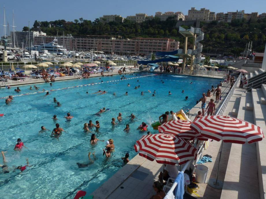 La piscine du stade nautique Rainier III a rouvert ce samedi.