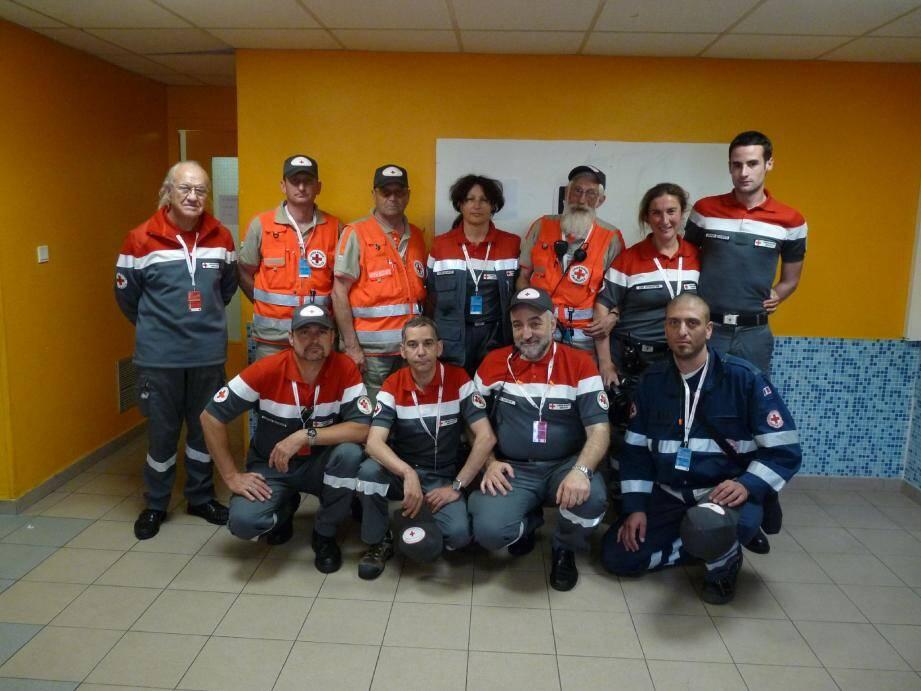 Les bénévoles de la Croix-Rouge monégasque s'investissent personnellement pour que les événements en Principauté se déroulent au mieux.