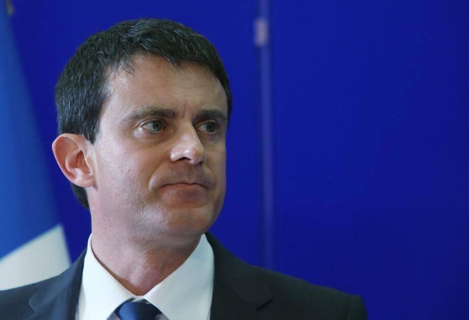 Manuel Valls n'hésite pas pour la première fois a évoqué la présence d'une mafia sur l'île.(Archive Corse-Matin)