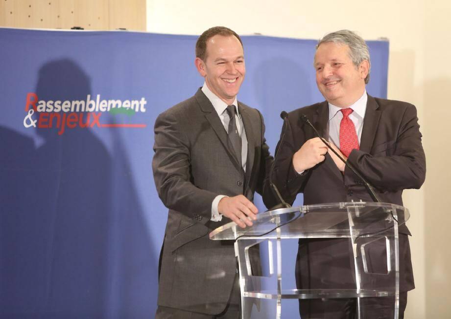 Laurent Nouvion et Jean-Charles Allavena.