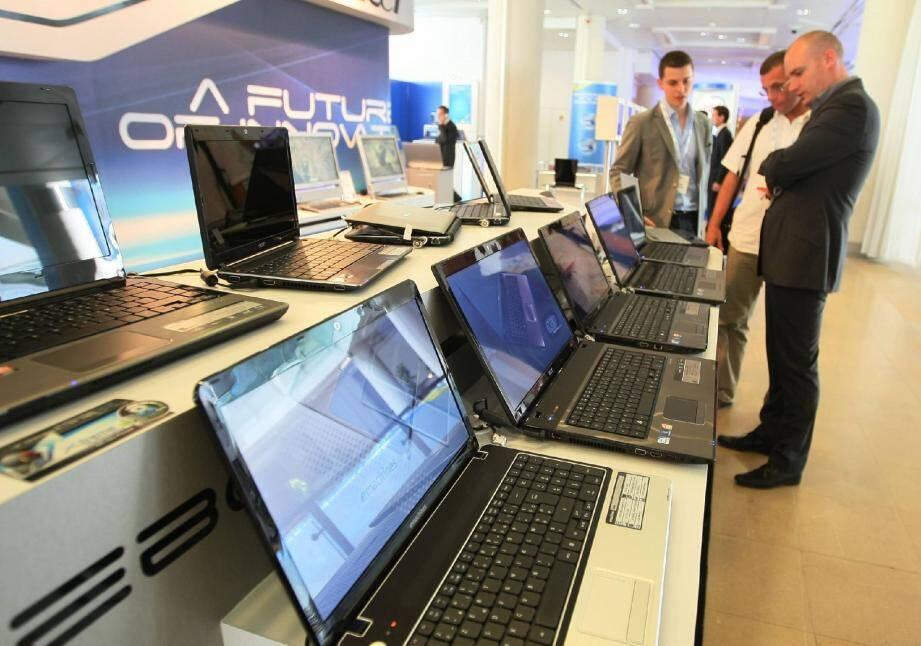 La technologie de pointe présentée uniquement aux professionnels.