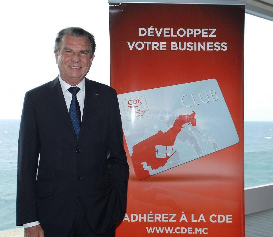 Le président de la CDE Michel Dotta a reçu hier 180 entrepreneurs lors d'un rendez-vous des adhérents.