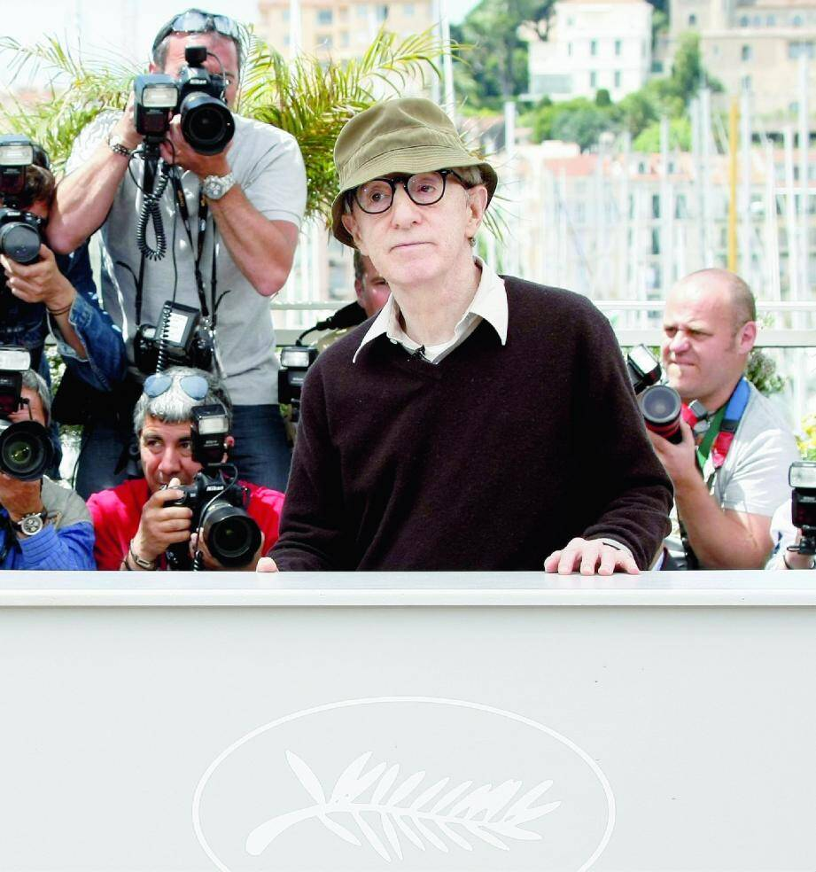 Woody Allen, ici à Cannes en 2011, va retrouver la Côte d'Azur durant deux mois, pour le tournage de son prochain film dont le nom de code est « WASP 2013 ».