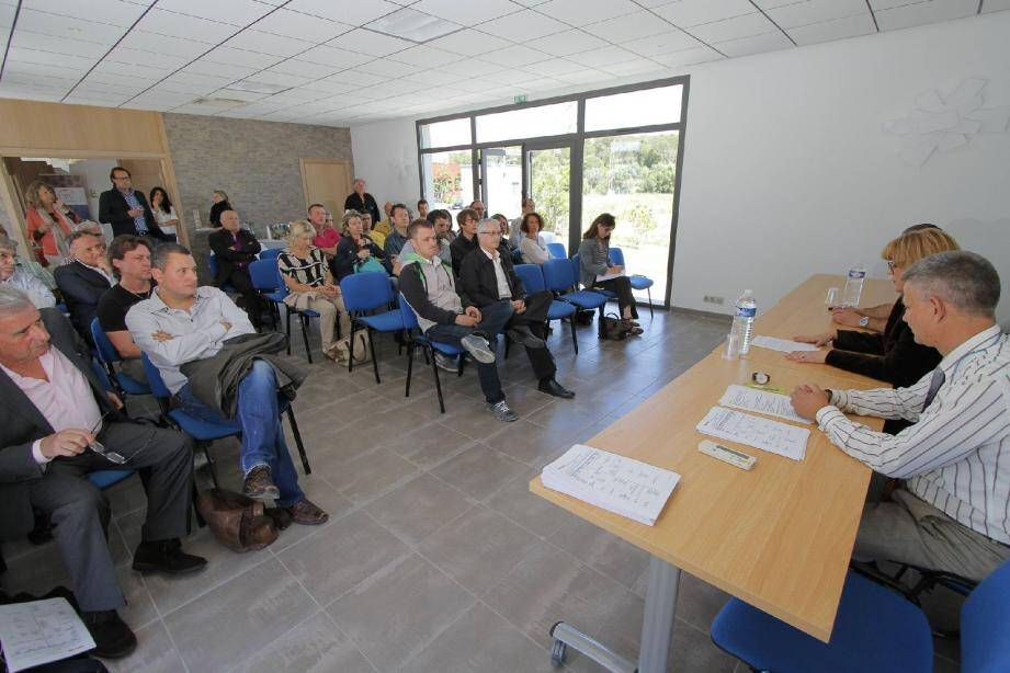 Le président du tribunal de commerce, Philippe Bedue, a détaillé les recours et autres actions à disposition des entreprises.