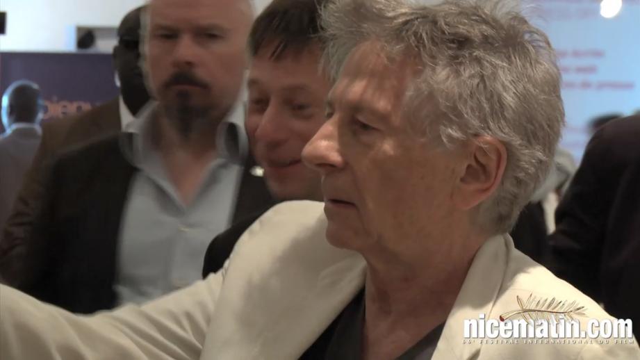 """Roman Polanski présente son film """"la Vénus et la Fourrure"""""""