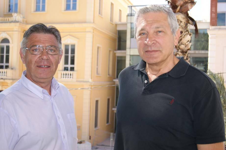 Philippe Ferré et Pascal Janier sont les têtes de file de l'opération Voisins vigilants dans le quartier Godillot.