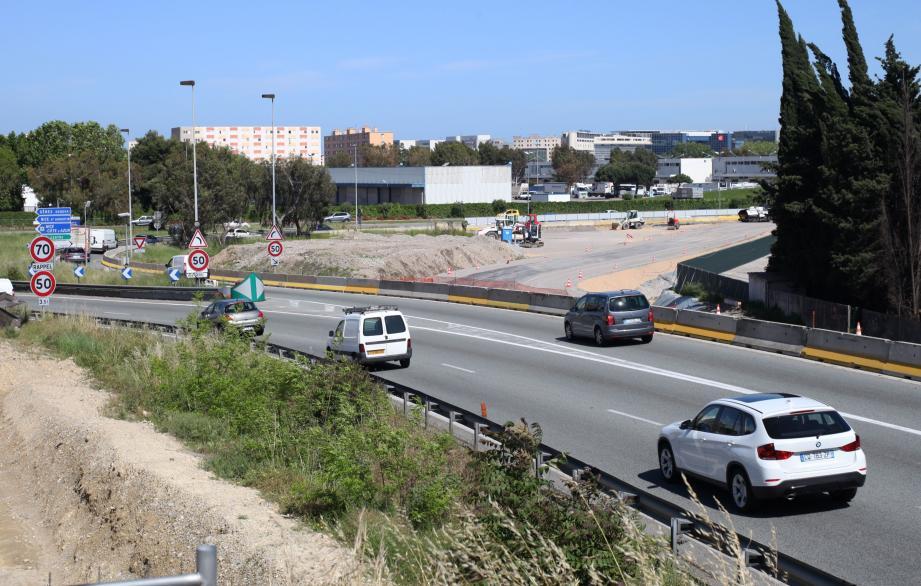 La sortie Nice-Promenade sera fermée ce soir, mercredi et jeudi soir, de 21 heures à 5 heures du matin.