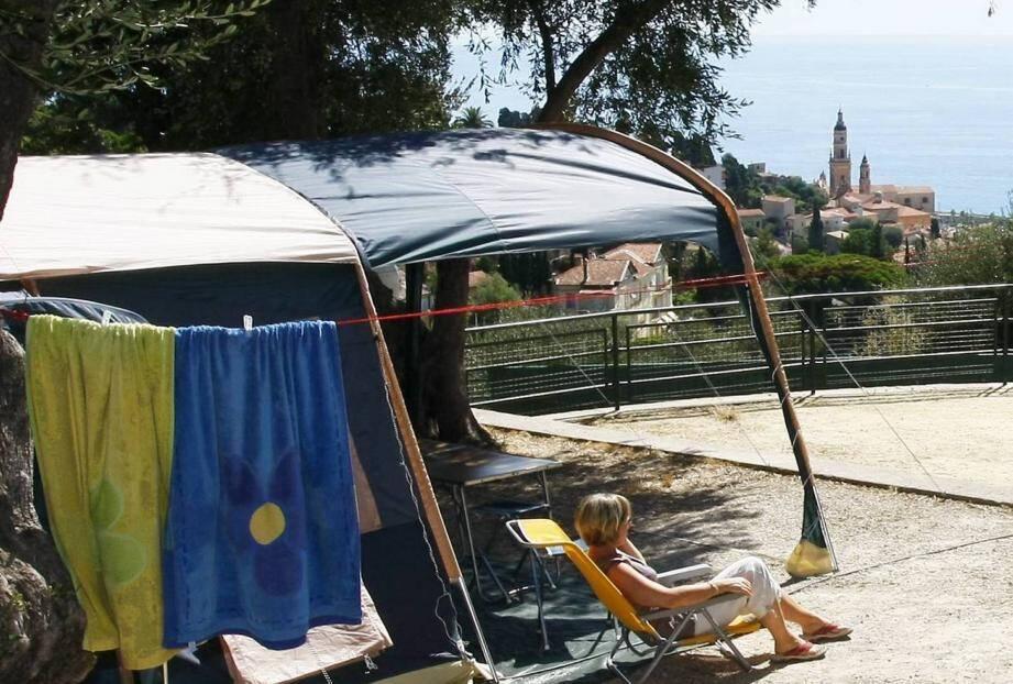 Le camping Saint-Michel de Menton rouvre ses portes le 1er juiin